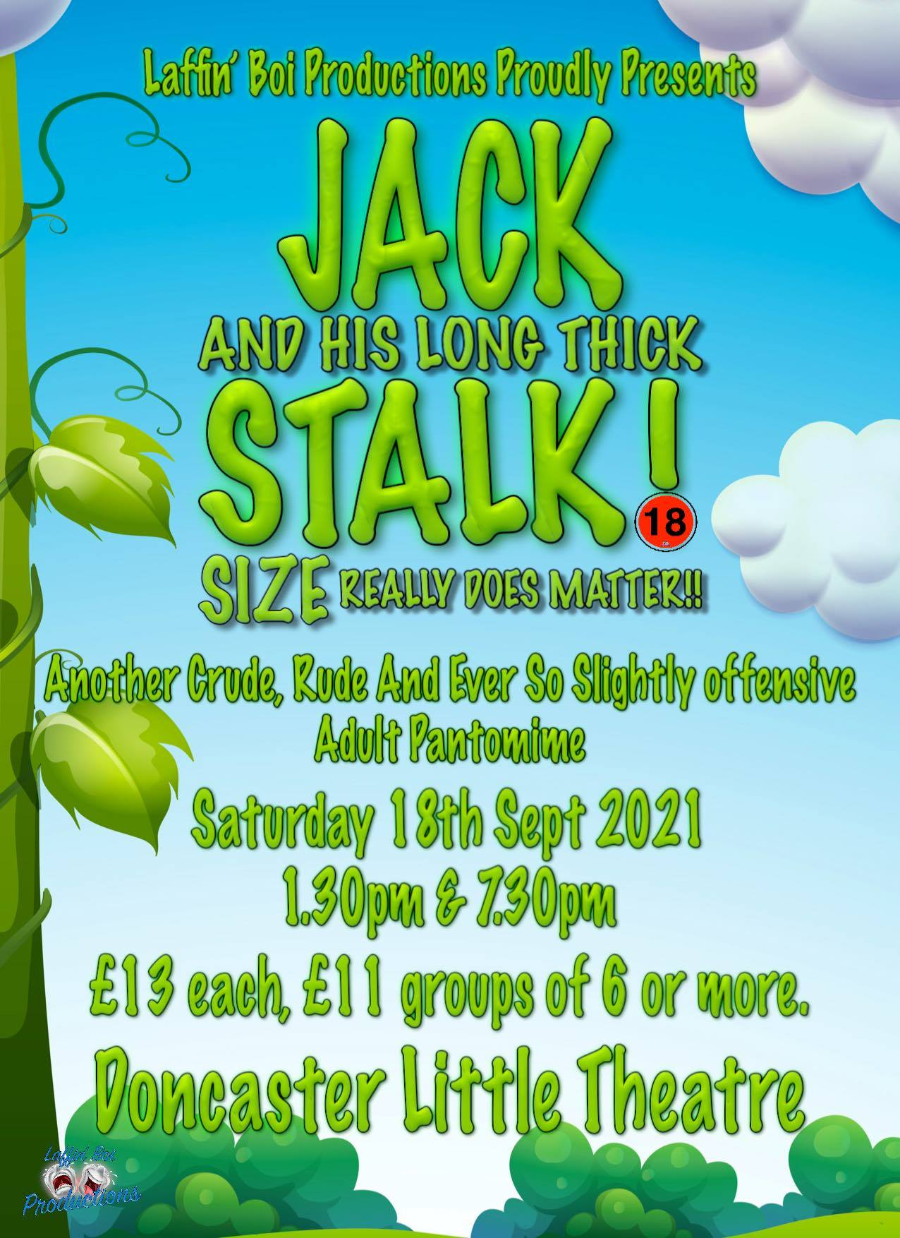 Jack And His Long Thick Stalk!