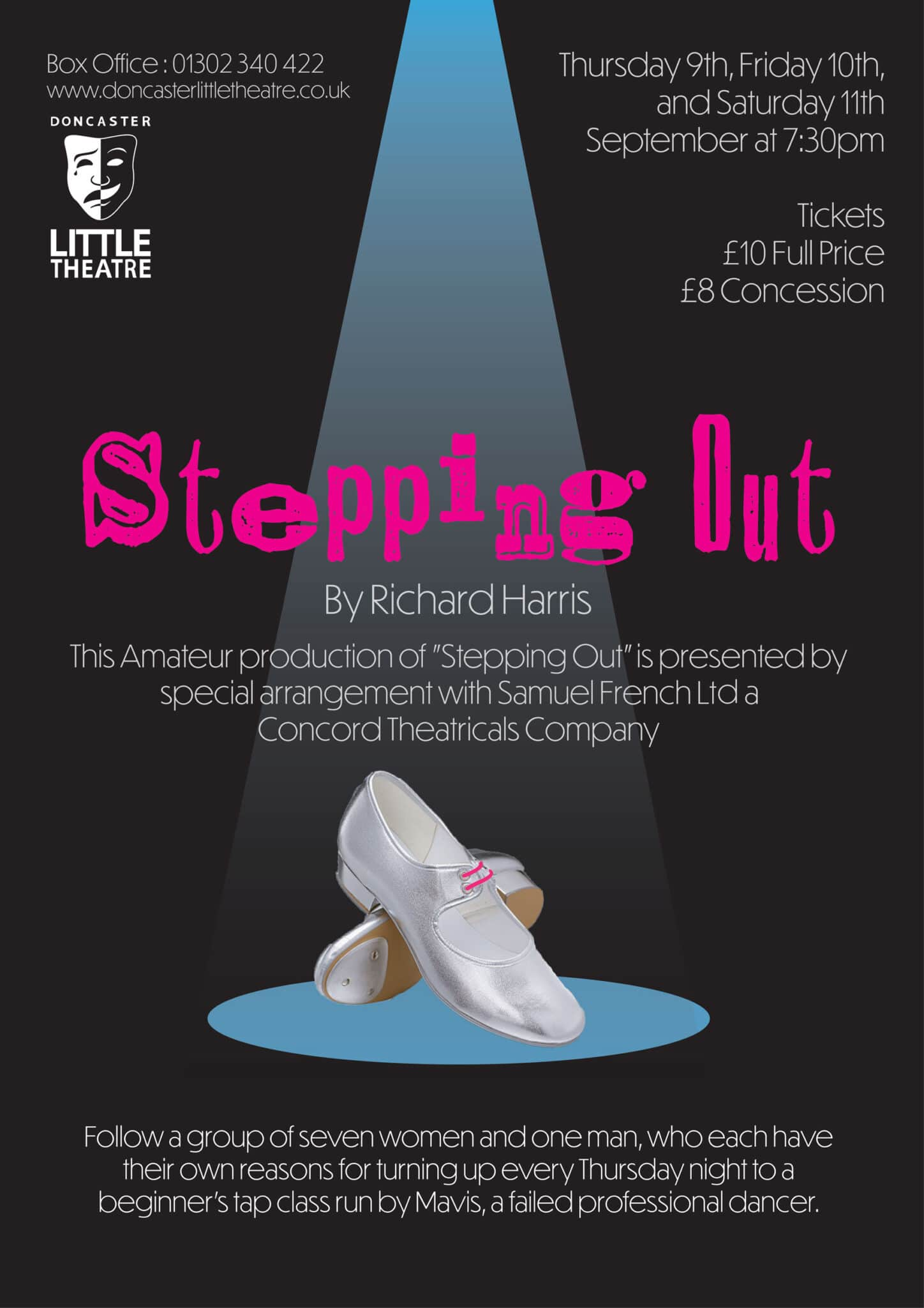 Stepping Out – A Little Theatre Production