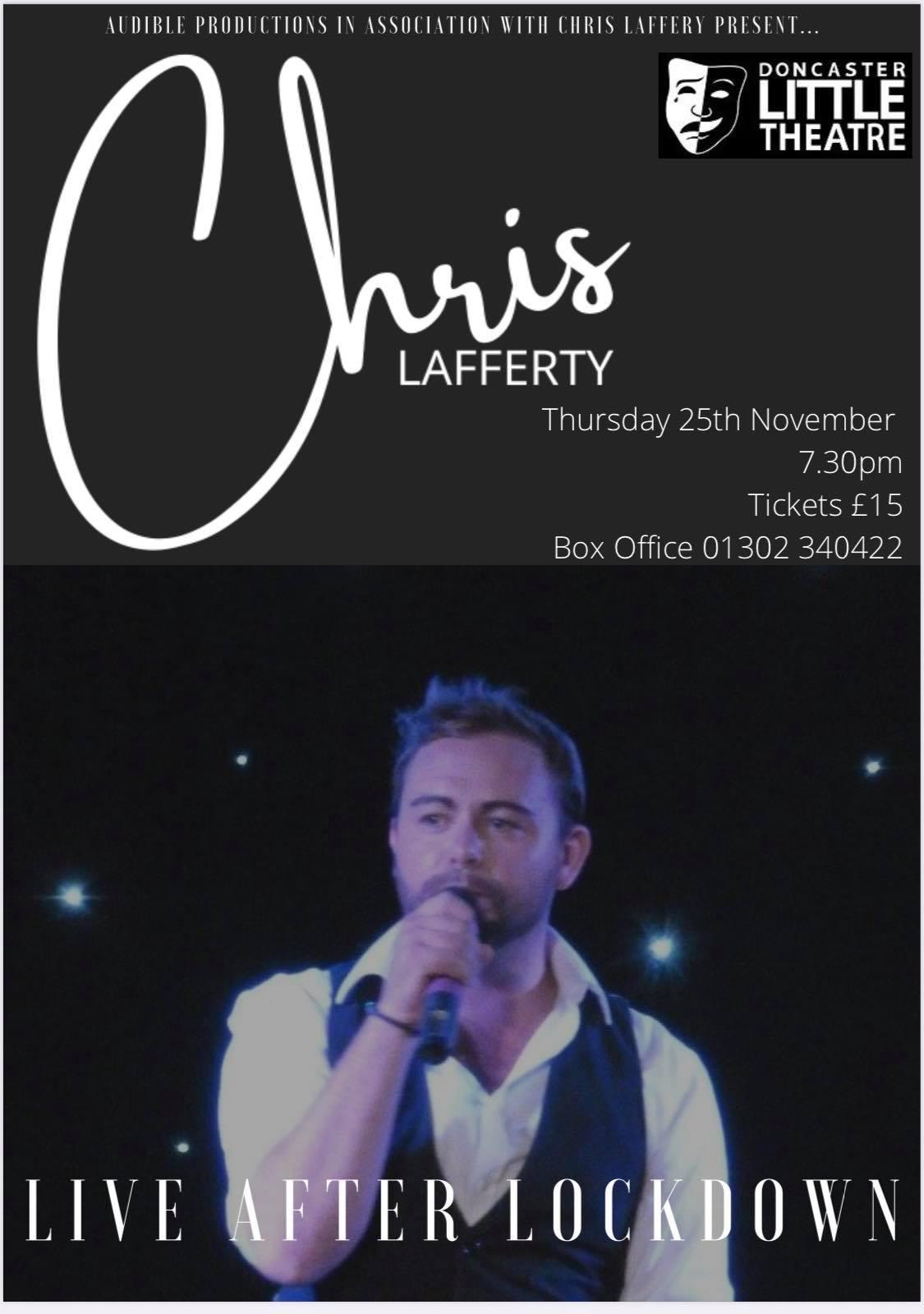 Chris Lafferty – Live after lockdown